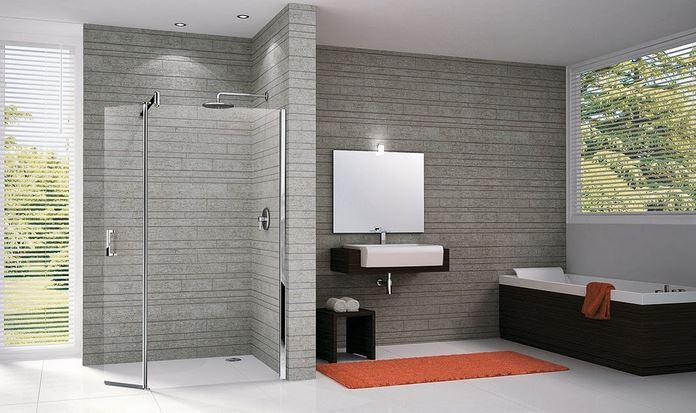 Salle de bain maison : Kit de receveur de douche italienne