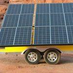 Le panneau solaire mobile : la solution écolo